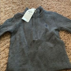 Grey sweater for toddlers